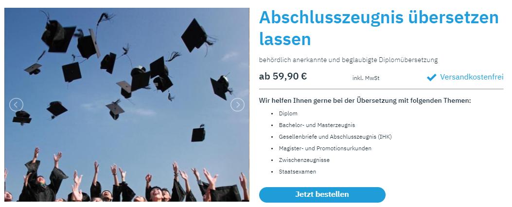 nostrifikacija diplome u Njemačkoj